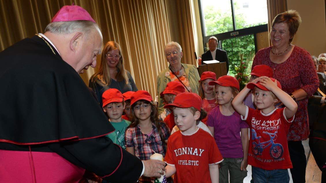 Weihbischof Friedrich Ostermann feierte 2012 seinen 80. Geburtstag.