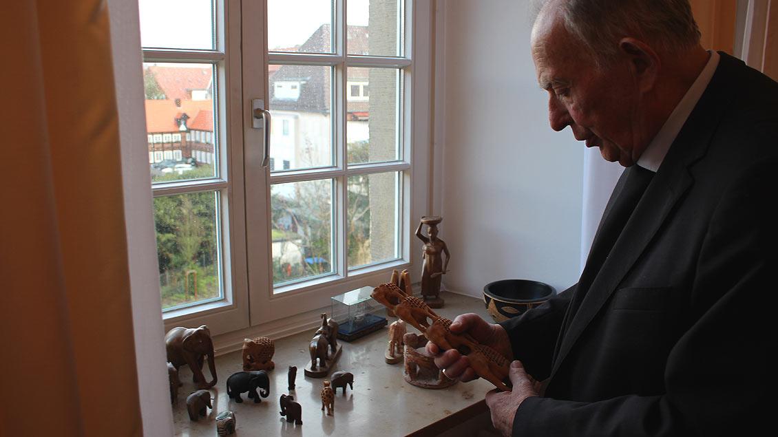 Rückblick aus 2018: Ostermann war lange Jahre Leiter der Fachstelle Mission, Entwicklung und Frieden im Bischöflichen Generalvikariat Münster und zuständig für die Diözesanpartnerschaft mit Nordghana.