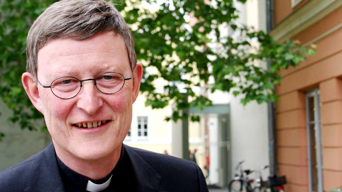 Kardinal Rainer Maria Woelki übernimmt den Kommissionsvorsitz von Weihbischof Christoph Hegge.