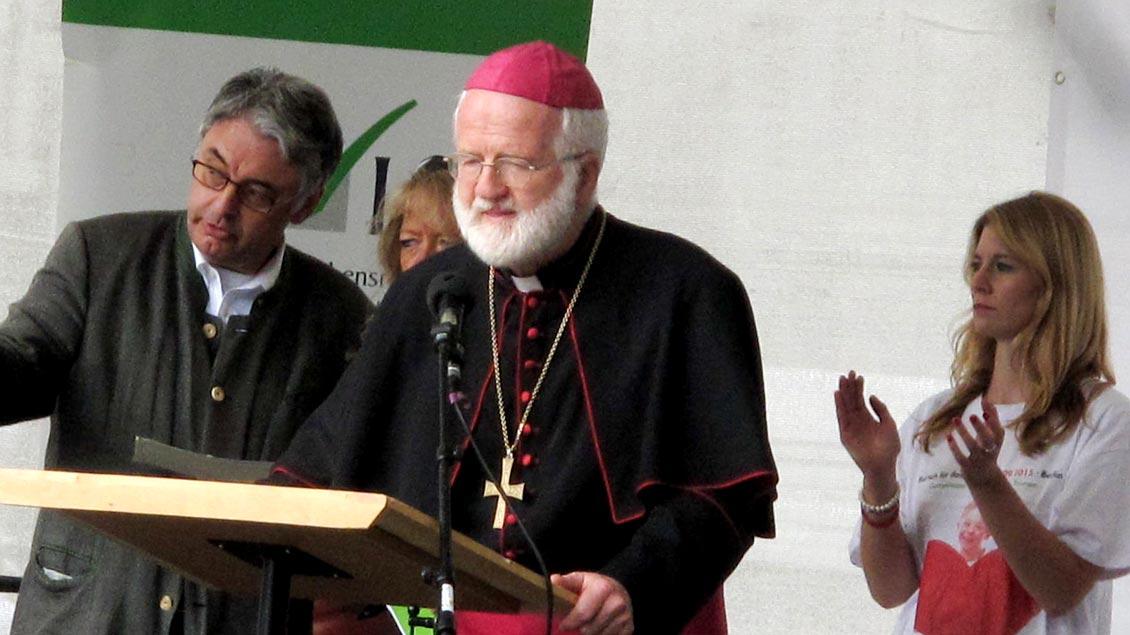 Der emertitierte Salzburger Weihbischof Andreas Laun