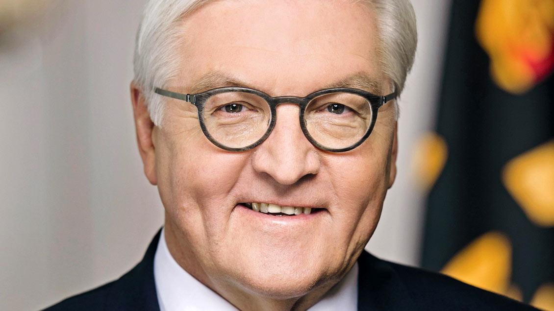 Bundespräsident Frank-Walter Steinmeier, SPD-Politiker.