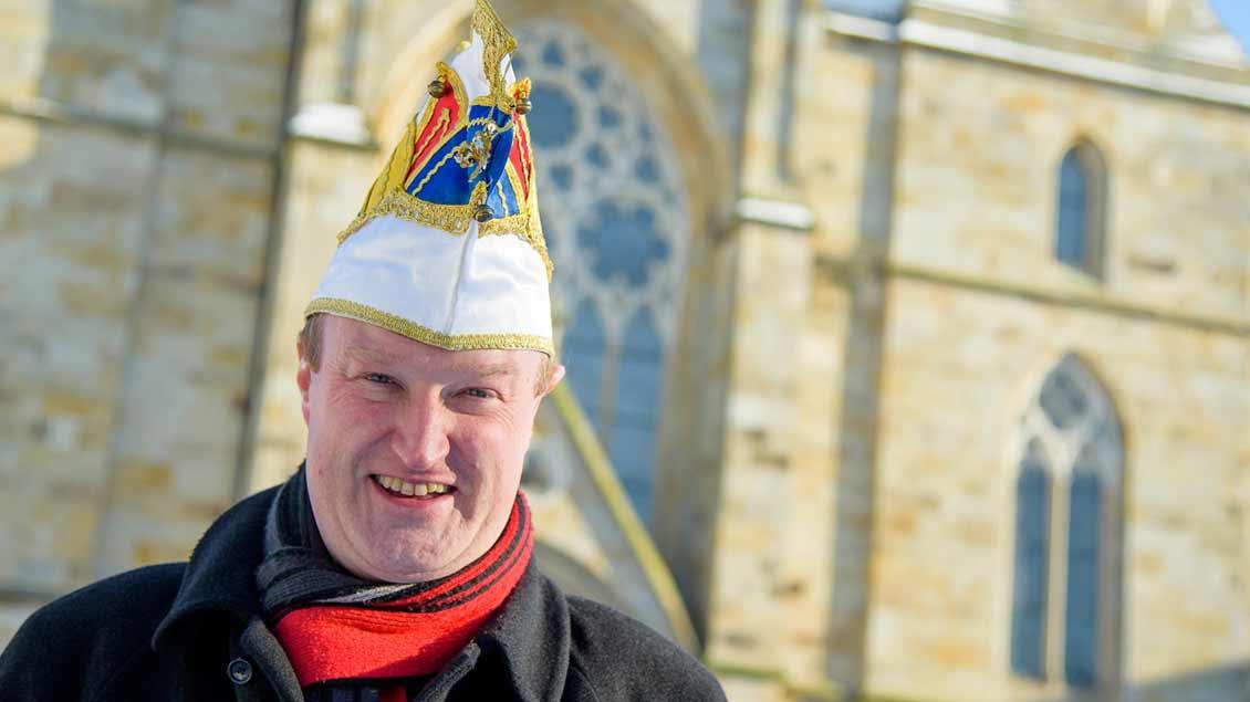 Pfarrer Heiner Zumdohme.