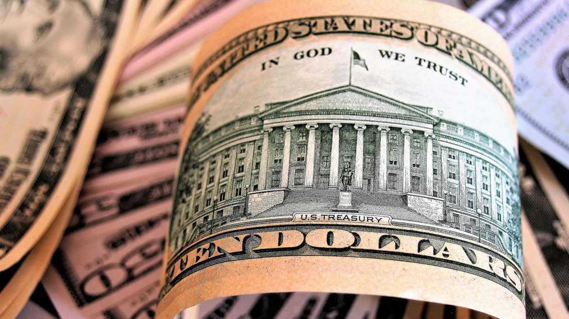 Dollarscheine.