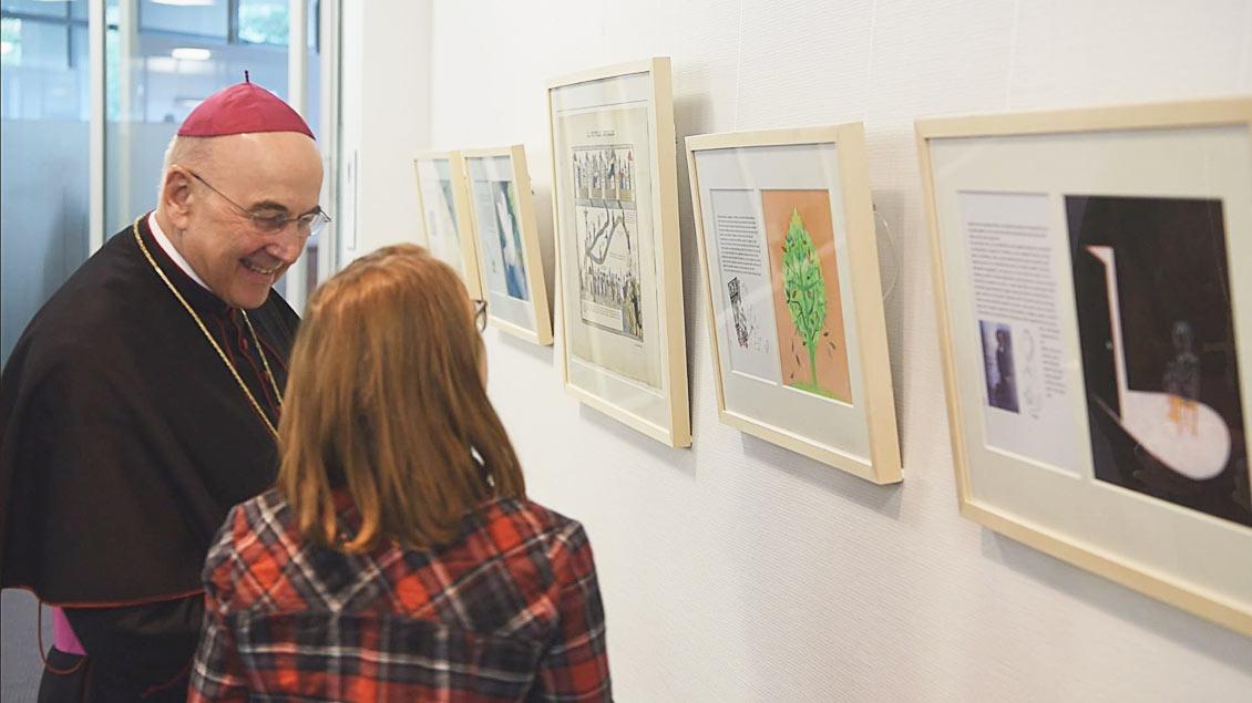 """Ausstellung """"Friedenssucher"""" in Münster"""