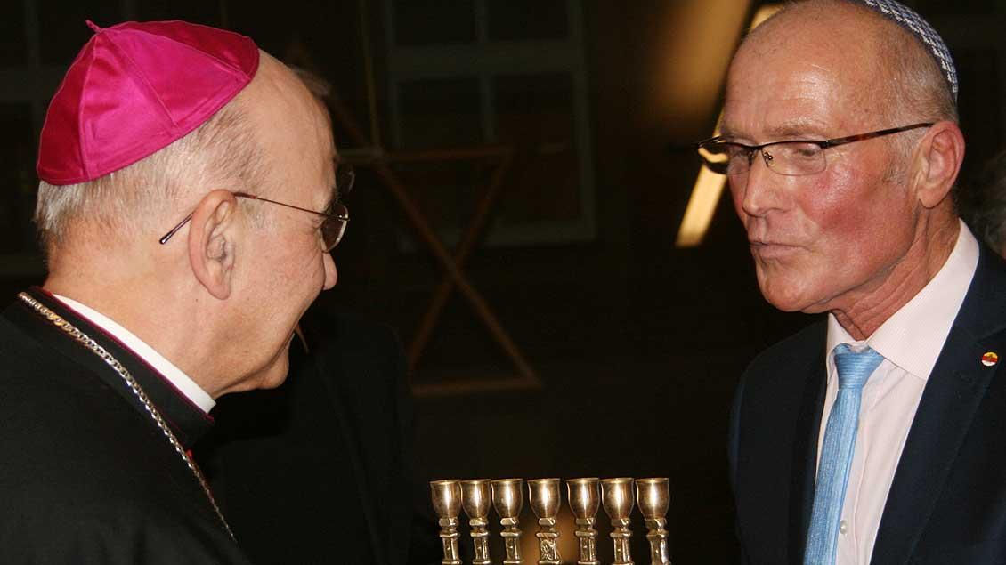 Bischof hält Antisemitismus für unerträglich