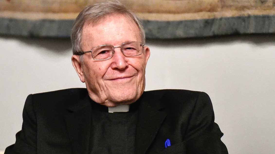 Kardinal Walter Kasper. Foto: Cristian Gennari (KNA)