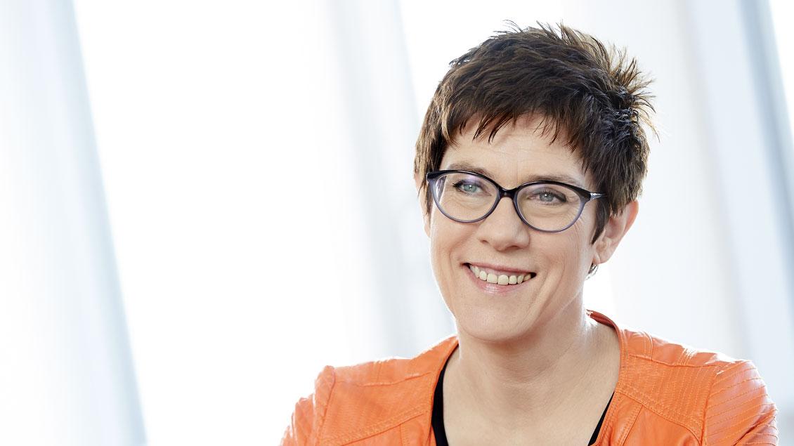 CDU-Generalsekretärin Annegret Kramp-Karrenbauer ist Katholikin.