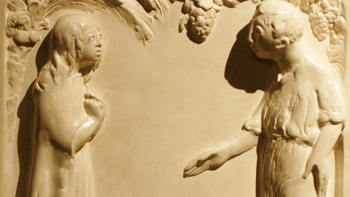 Maria von Magdala begegnet dem Auferstandenen.