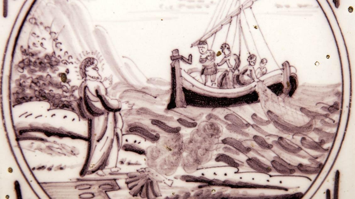 Der Auferstandene begegnet den Jüngern.