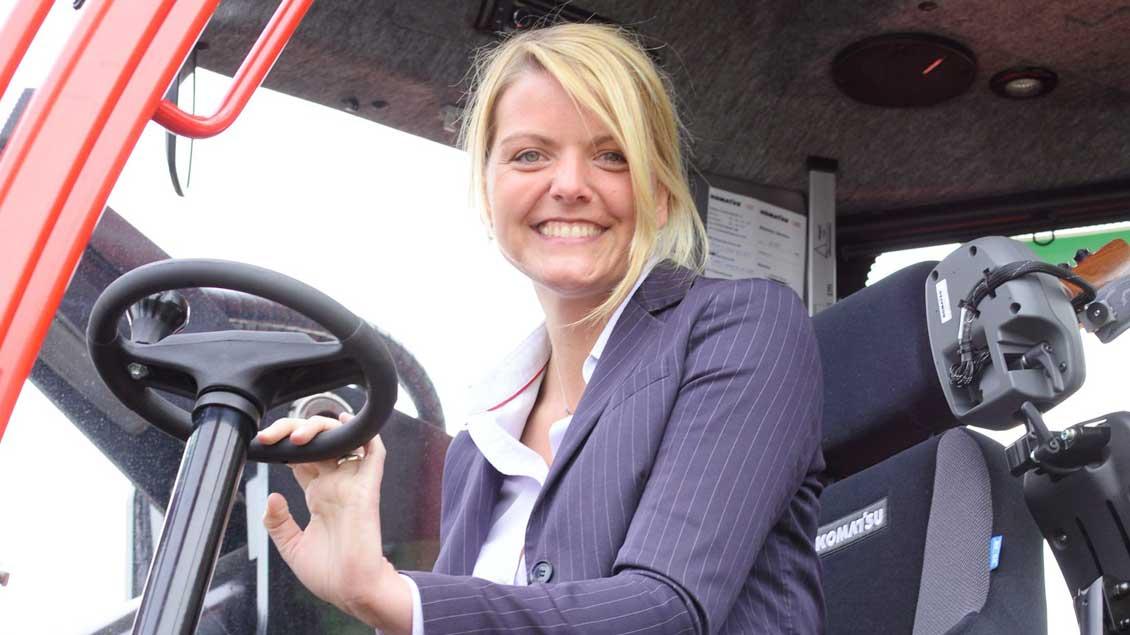 Landwirtschaftsministerin Christina Schulze Föcking will schon Kinder in der Schule für den Wert von Lebensmitteln sensibilisieren.