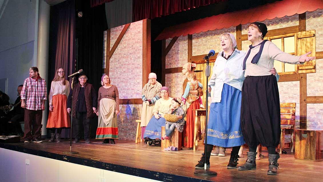 """Probe für das inklusive Musical """"Katharina""""."""
