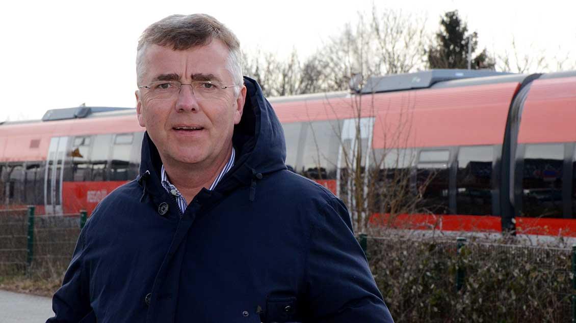 Pfarrer Bernd Strickmann.