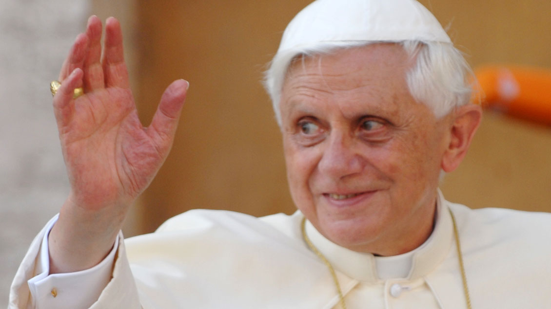 Benedikt XVI. Foto: Michael Bönte