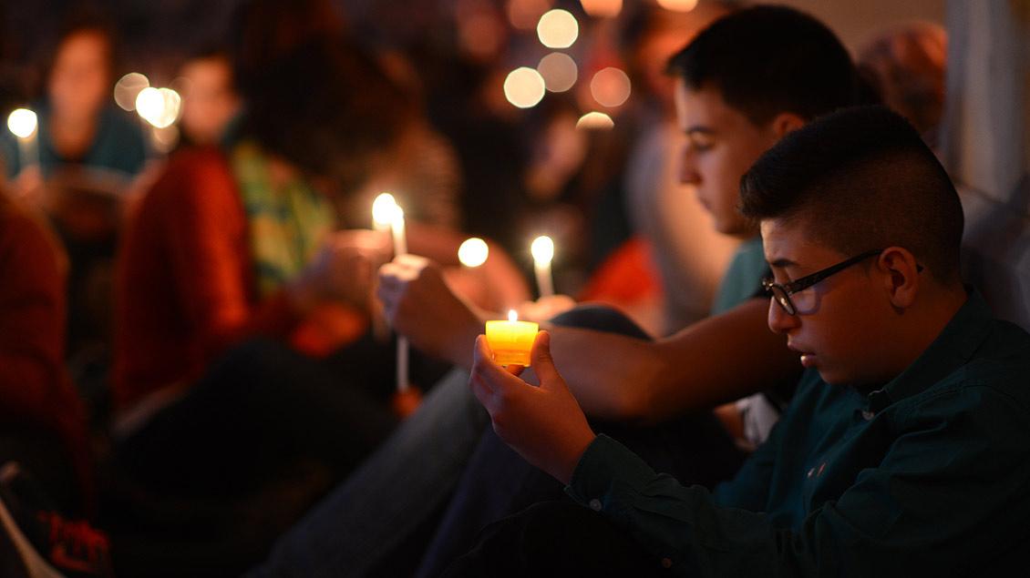 Für das Taizégebet sind Kerzen ein wichtiges Element.