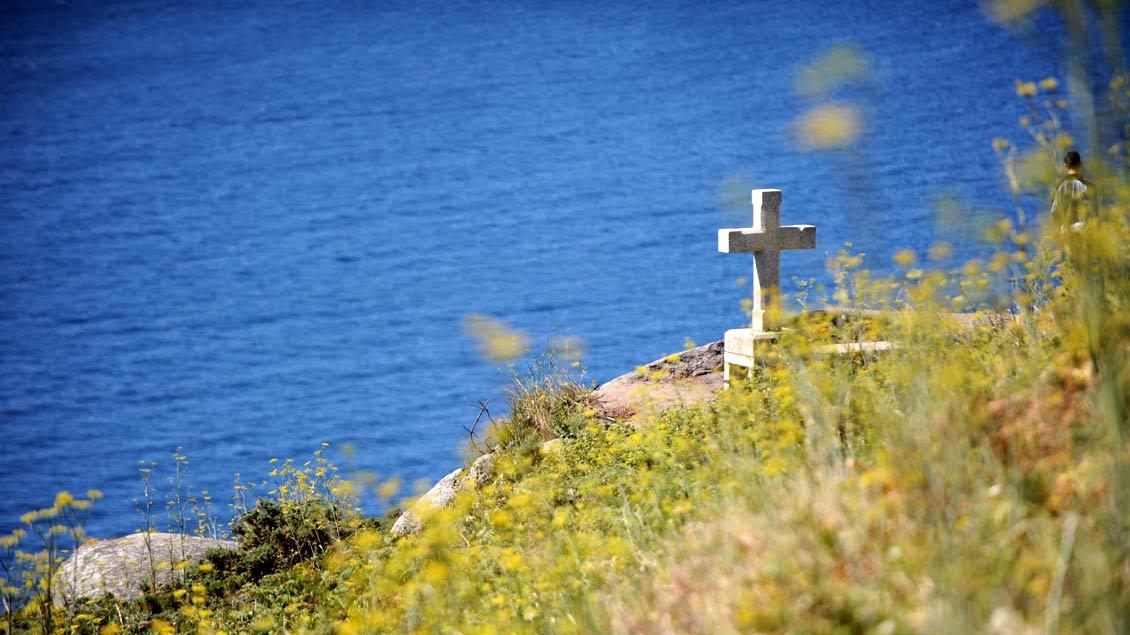 Die Geschichte eines Kreuzes auf Wangerooge erzählt unser Autor.