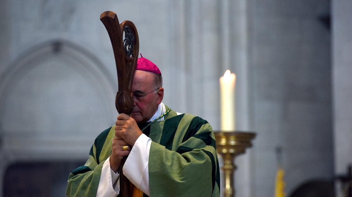 """Bischof Felix Genn: """"In meinen Gedanken und Gebeten bin ich bei den Opfern und ihren Familien."""""""