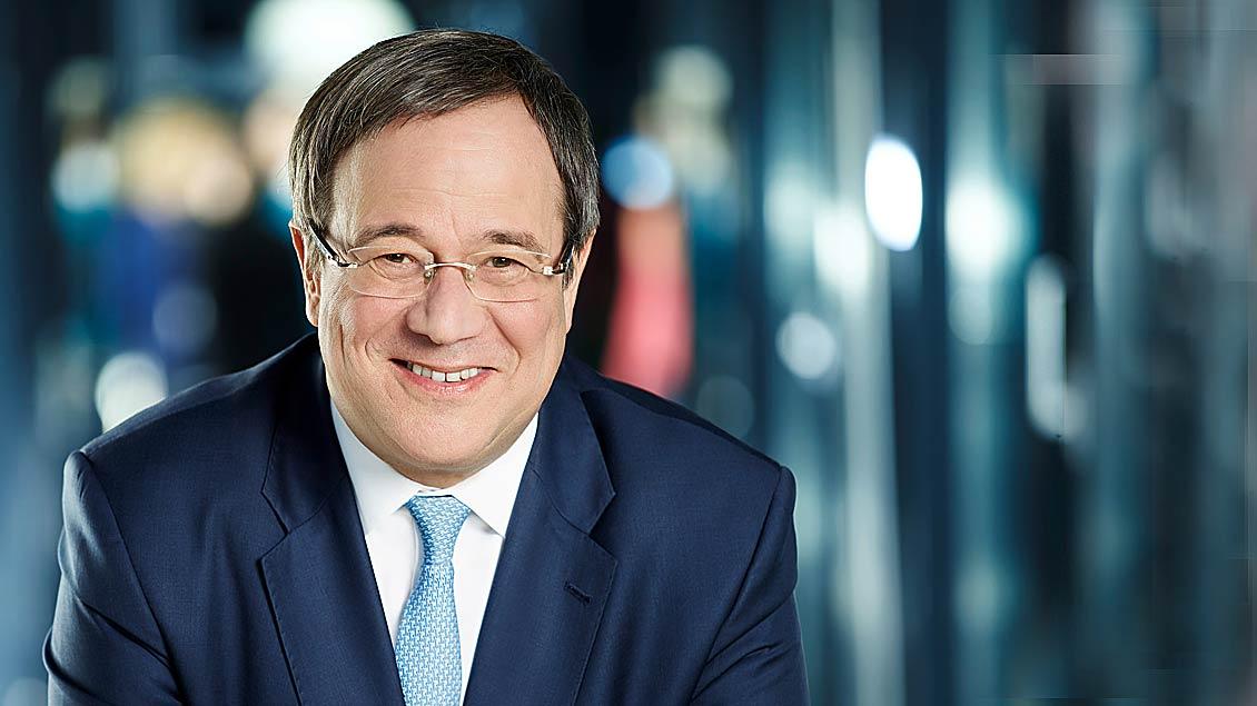 NRW-Ministerpräsident Armin Laschet kommt auch zum 101. Katholikentag nach Münster.