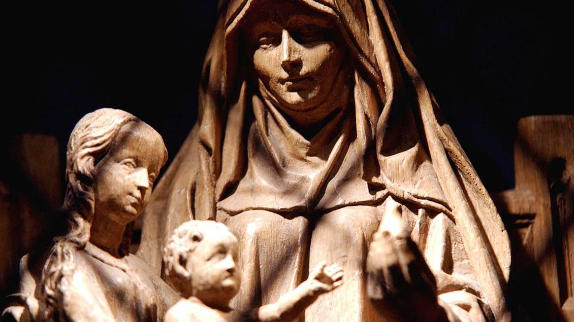 In Haltern wird das Gnadenbild der Mutter Anna verehrt.
