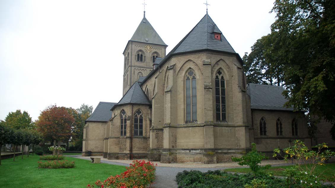 Die Wallfahrtskirche St. Mariä Himmelfahrt in Wesel-Ginderich.