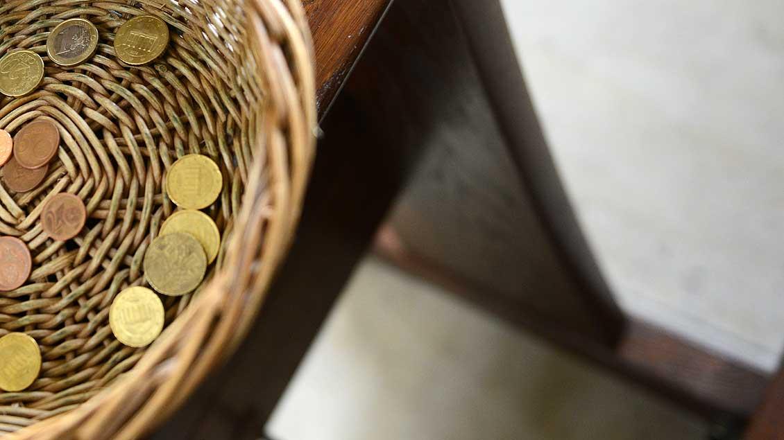 In Kollekten bittet der Katholikentag um Spenden.