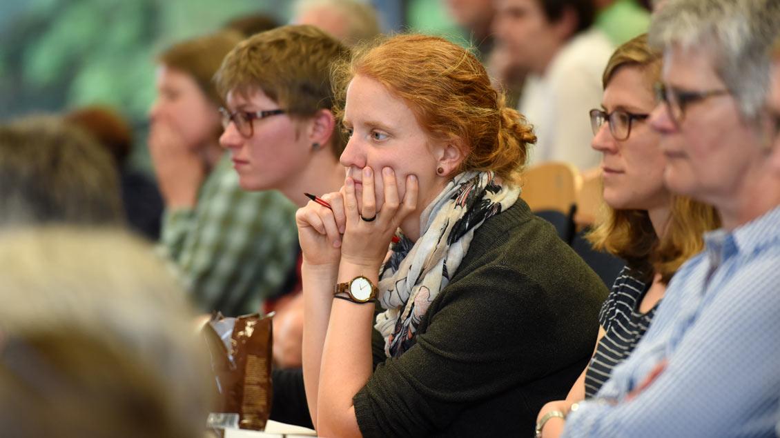 Randbeobachtungen am zweiten Tag des Katholikentags in Münster. | Foto: Michael Bönte