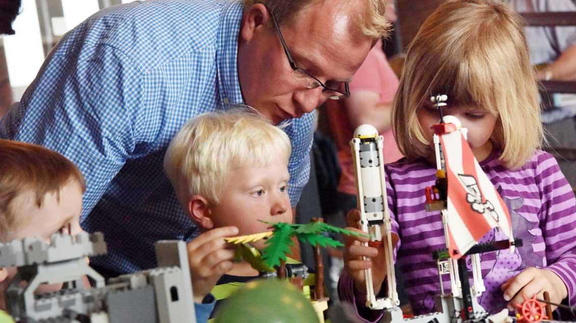 Legowelt im Familienzentrum. | Foto: Michael Bönte