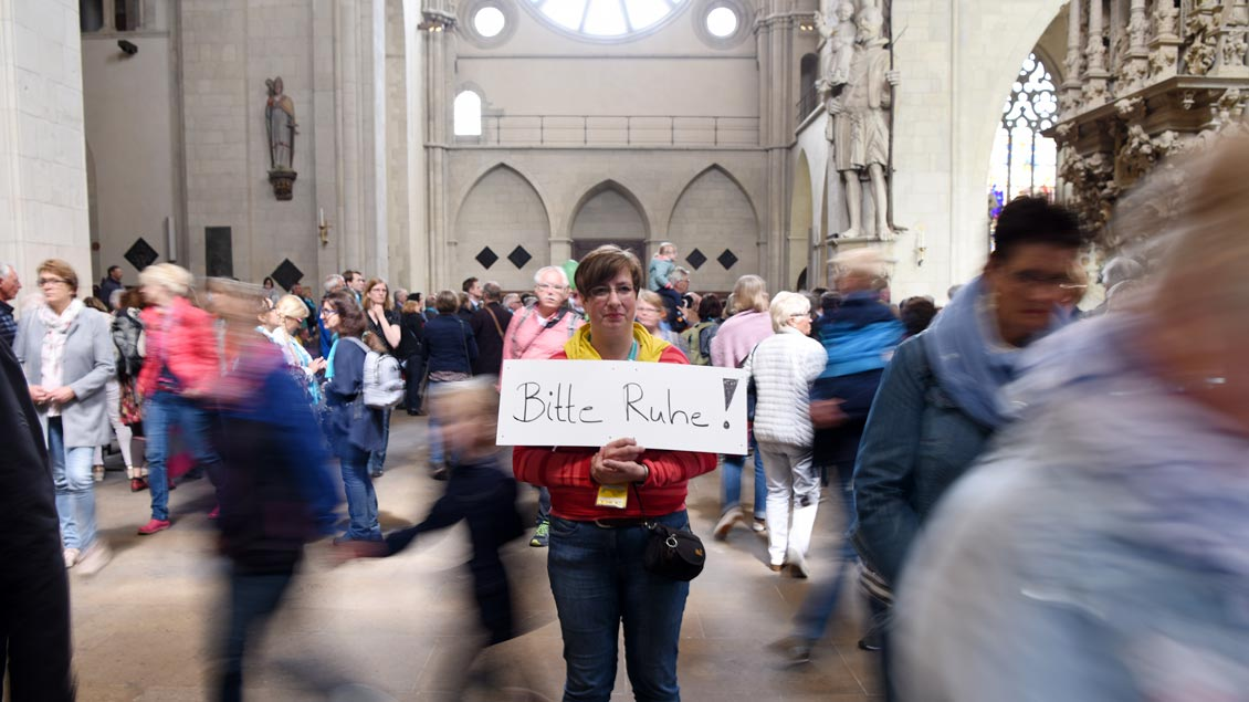Caritasgottesdienst im Dom. | Foto: Michael Bönte