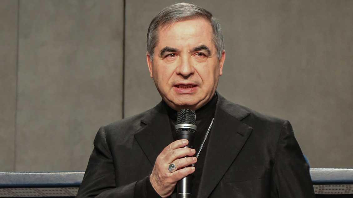 Giovanni Angelo Becciu. Foto: Romano Siciliani (KNA)