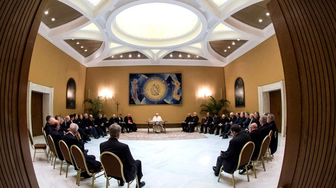 Drei Tage waren die chilenischen Bischöfe im Vatikan und sprachen auch mit Papst Franziskus über den Missbrauchsskandal in ihrem Land.