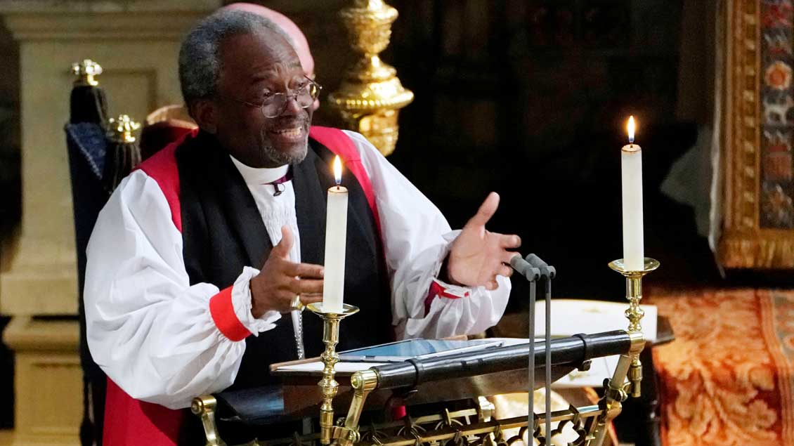 Bischof Michael Curry.