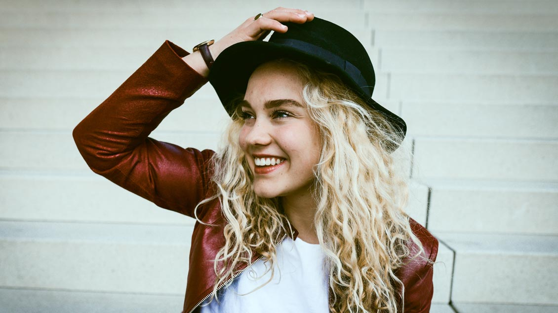 Youtuberin Jana Highholder. Foto: GEP/Lea Feicks