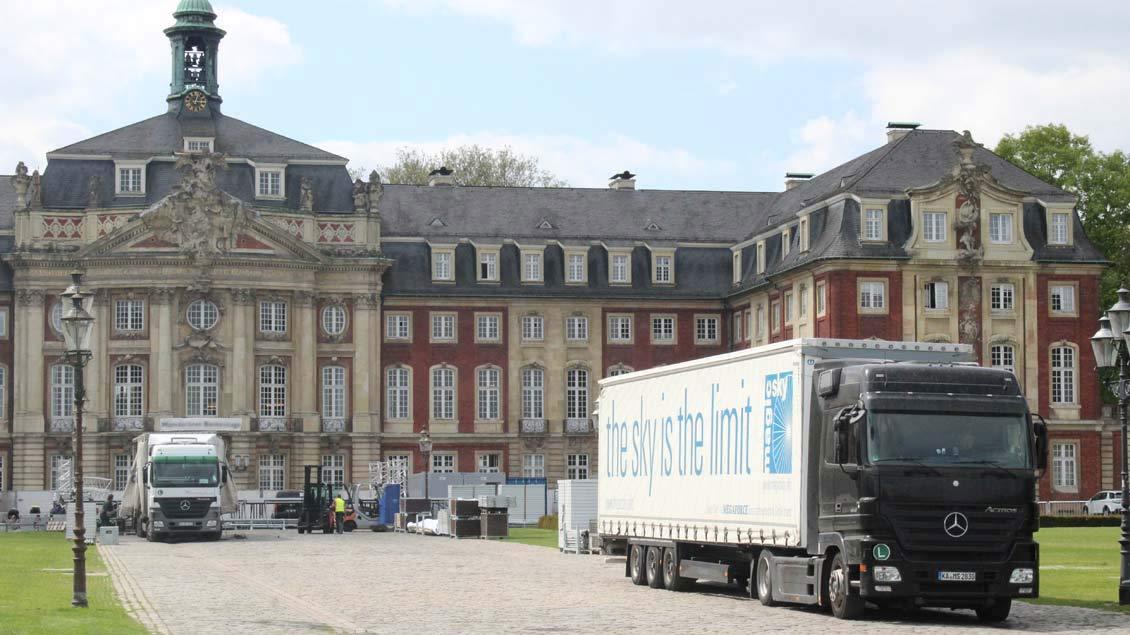 Schlossplatz.