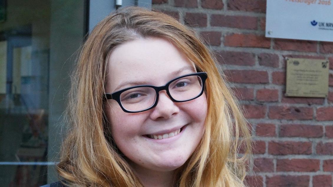"""Jana Wulf, München: """"Ich bin positiv davon überrascht, wie viel hier auch für junge Leute angeboten wird."""""""