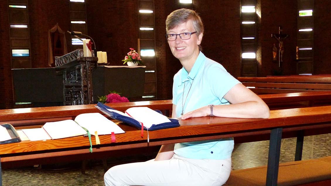 Die deutsche Provinzoberin Schwester Josefa Maria Bergmann aus Coesfeld kündigte die Gründung einer kleinen Gemeinschaft in Brandenburg an.