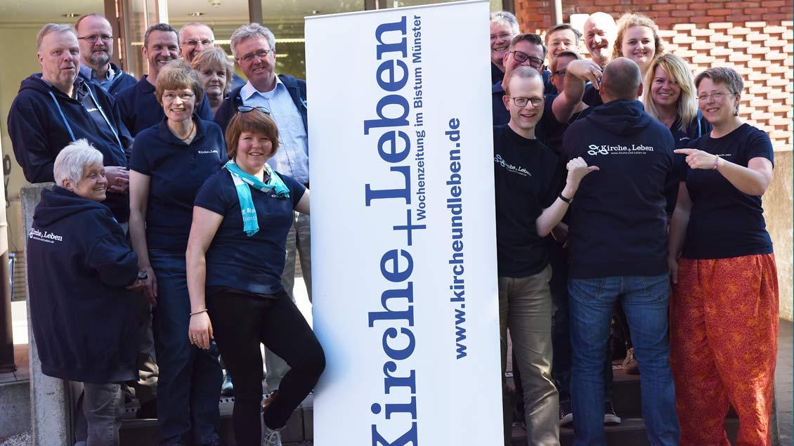 """Das Team von """"Kirche+Leben"""""""