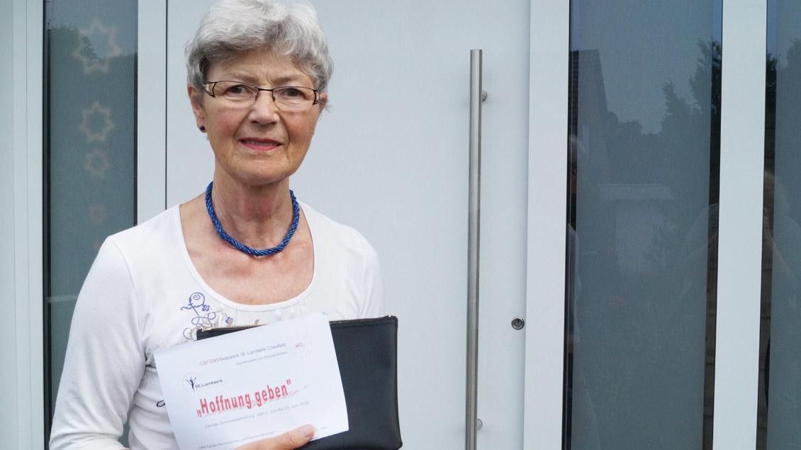 Elisabeth Thier aus Coesfeld.