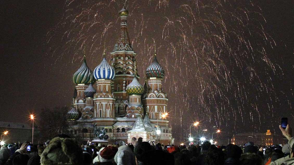 Moskau Foto: Mikhail Voskresensky (Reuters)