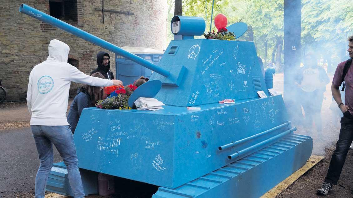 Panzer-Modell.