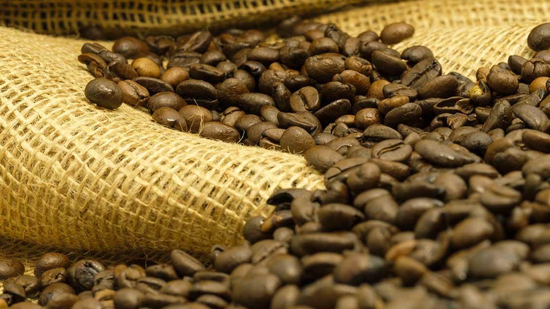 Kaffebohnen.