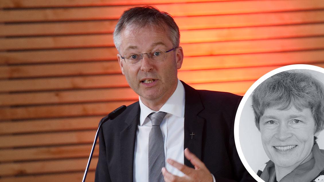 Norbert Köster bei der Verleihung des Ehrenamtspreises des Bistums 2018.