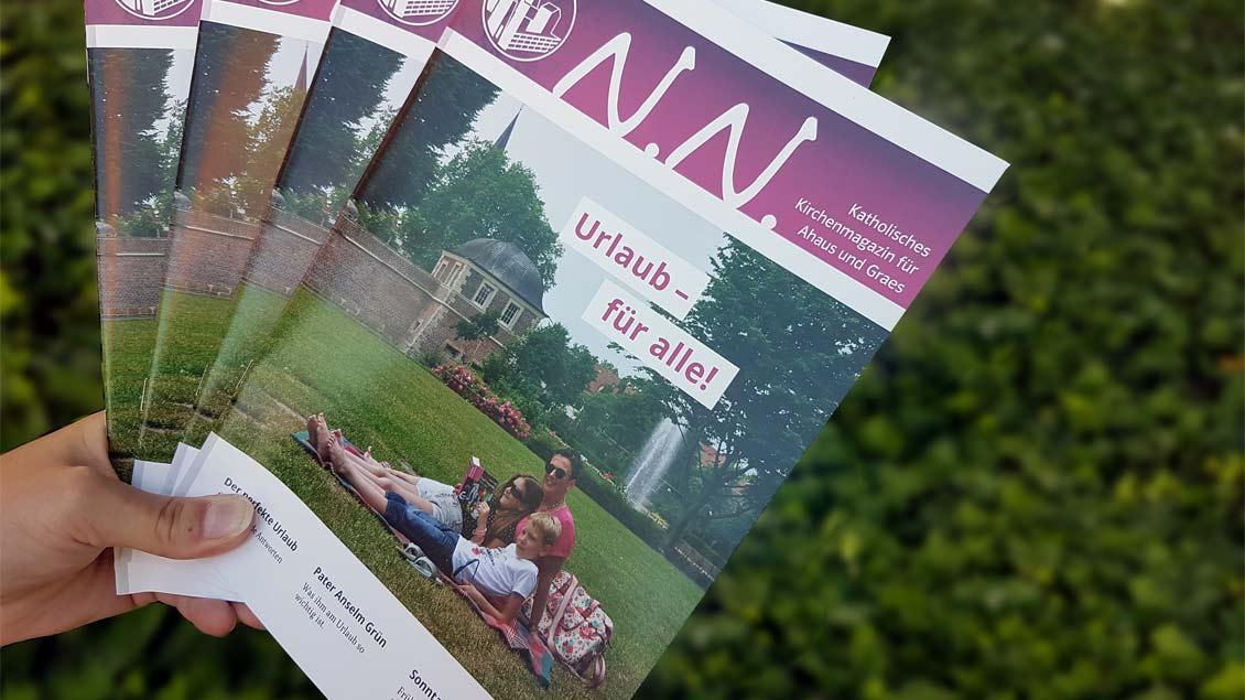 Das neue Ahauser Kirchenmagazin.