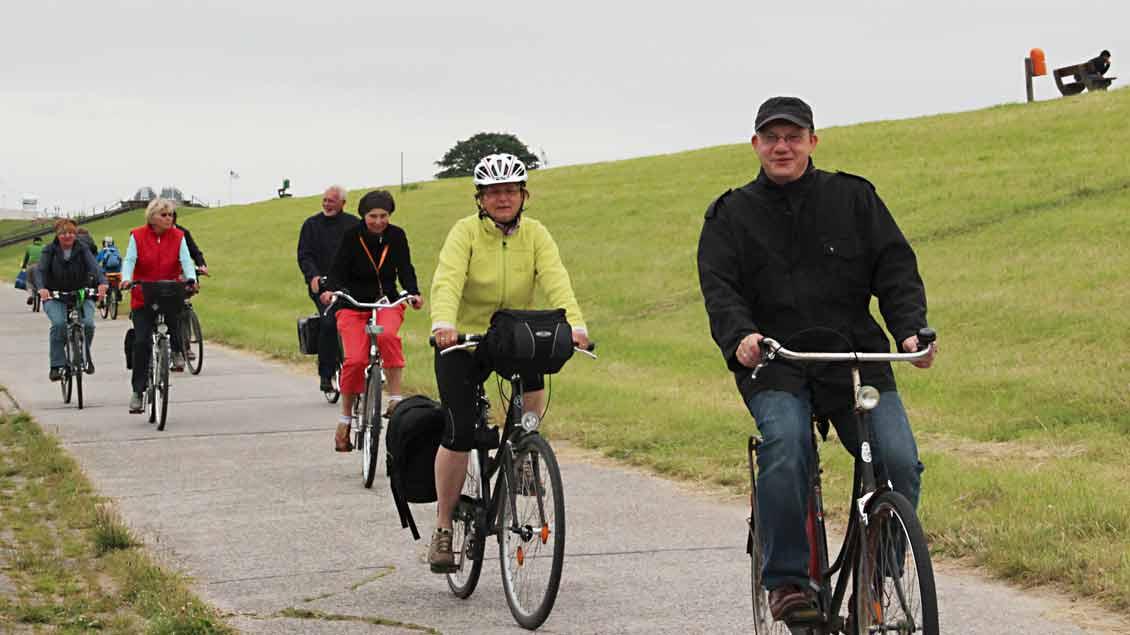 Geführte Touren auf dem Wangerländer Pilgerweg.