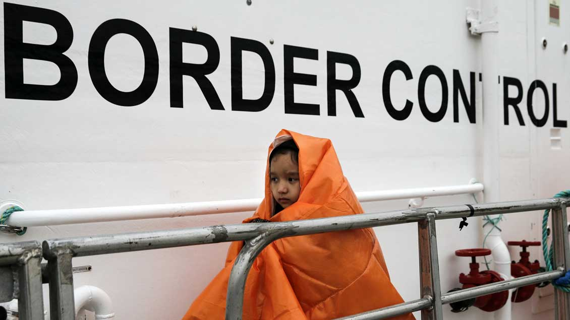 Boot Archivfoto: Alkis Konstantinidis (Reuters)