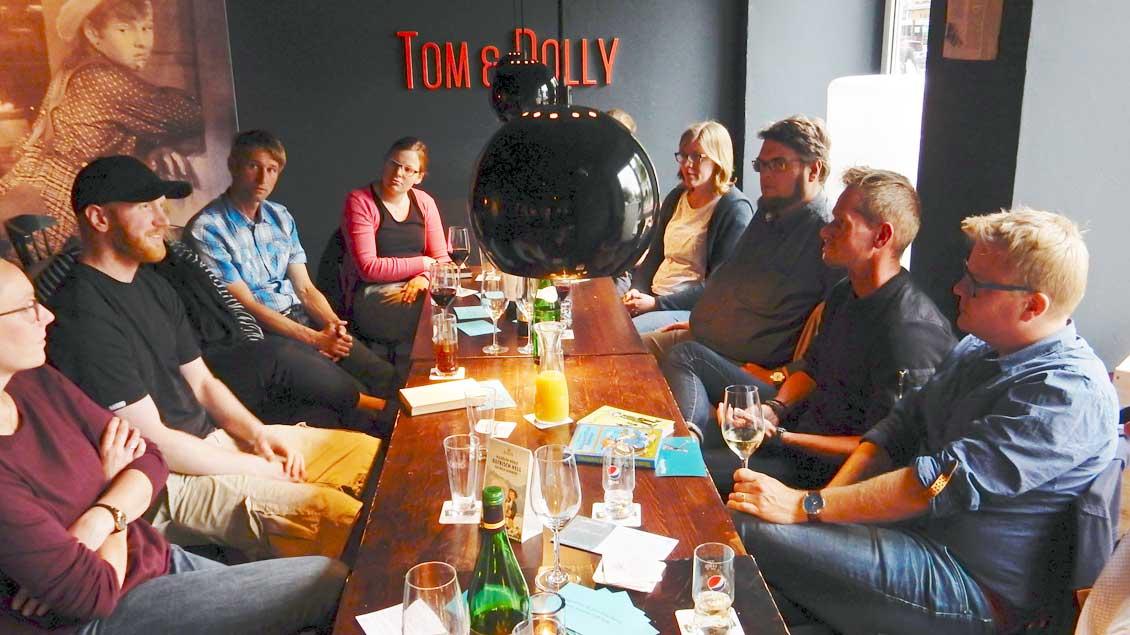 "Die Kneipe ""Tom&Polly"" an der Hammer Straße in Münster. Foto: Claudia Maria Korsmeier"