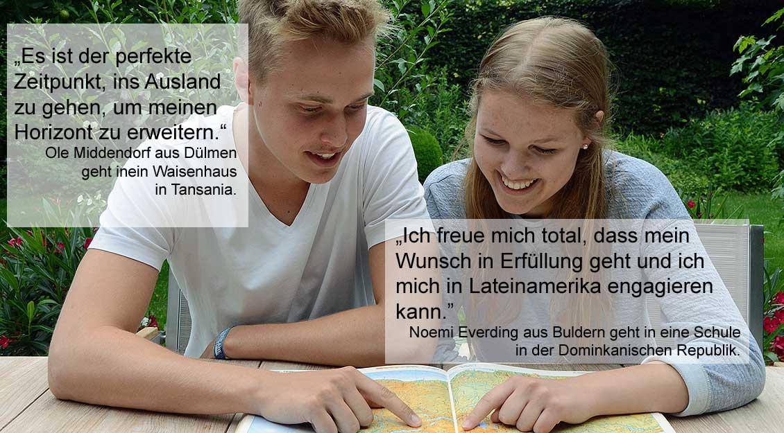 Ole Middendorf und Noemi Everding. | Foto: pbm