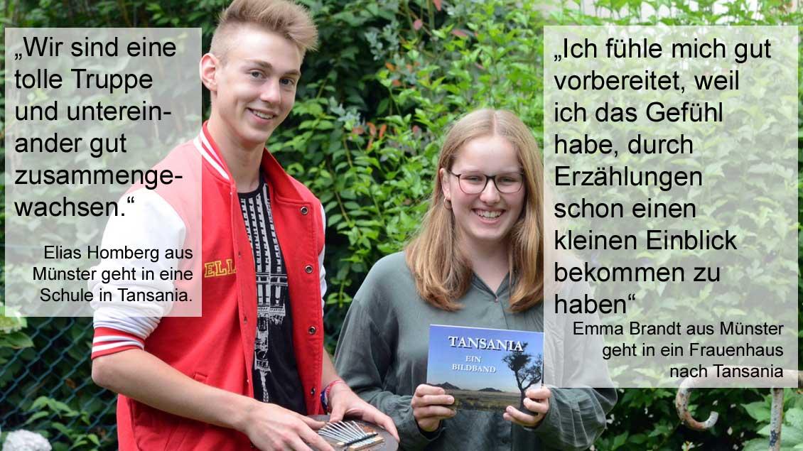 Elias Homberg und Emma Brandt. | Foto: pbm