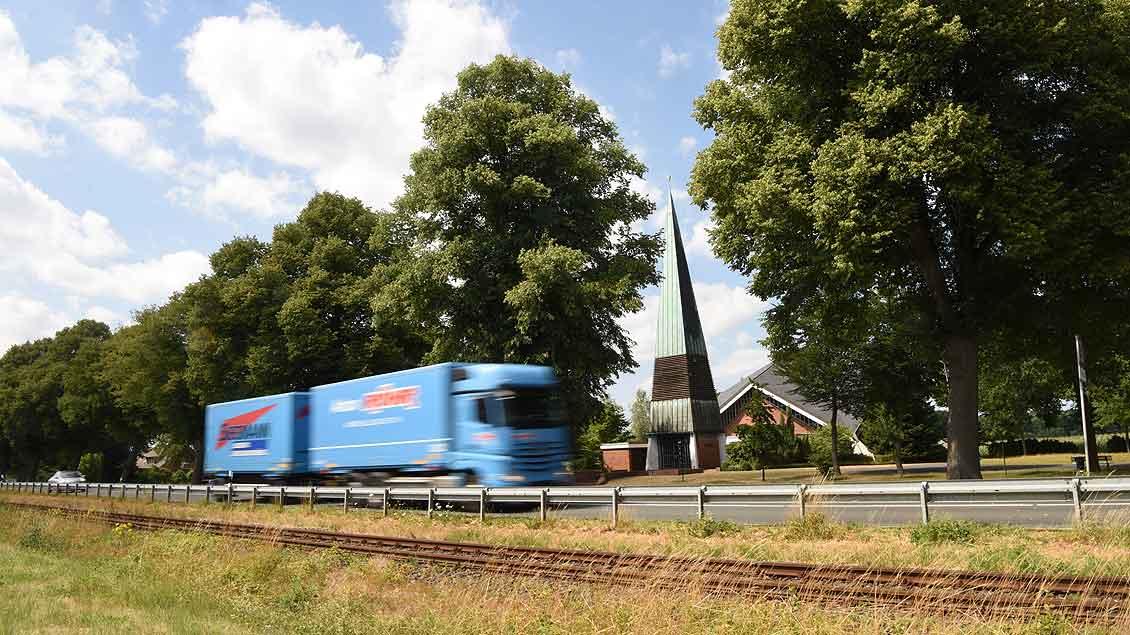 Kraftfahrerkapelle bei Raestrup