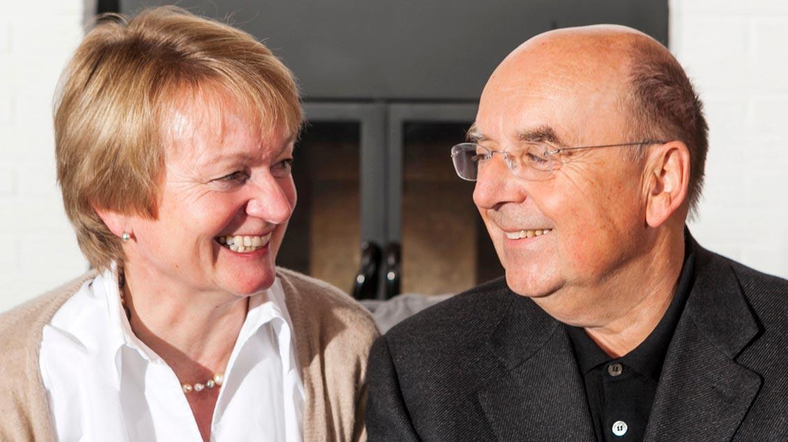 Die Stiftungs-Gründer Otmar und Anna Schober.