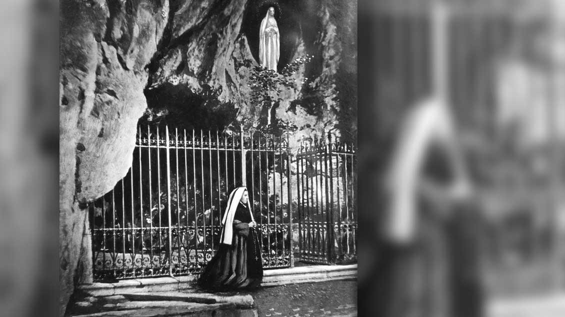 Heilige Bernadette.