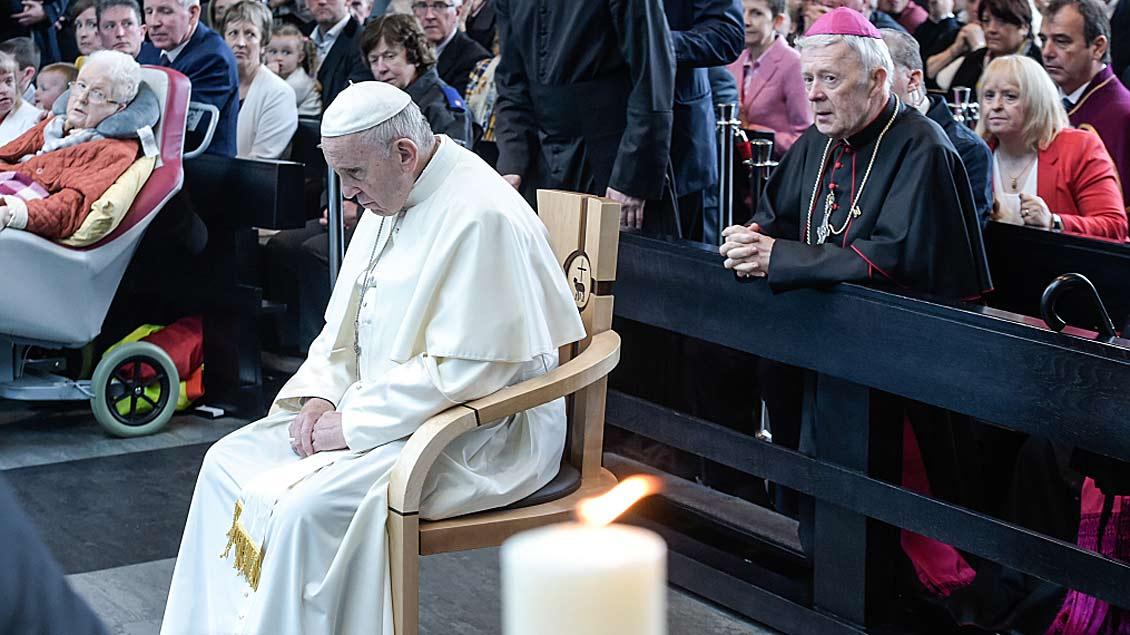 Missbrauchsdebatte im Mittelpunkt des Papst-Besuches